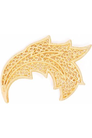 Dior Women Brooches - 1980s pre-owned textured leaf brooch