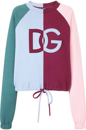 Dolce & Gabbana Logo panelled sweatshirt