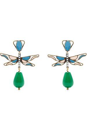 PORTS 1961 Butterfly-motif drop earrings