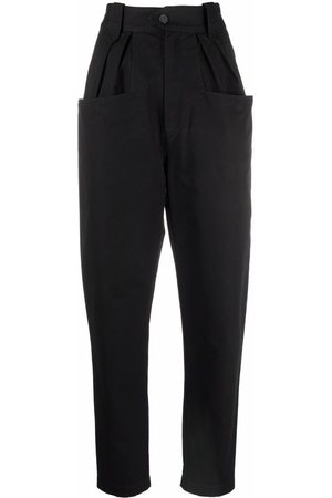 Isabel Marant Women Tapered - High-rise tapered jeans
