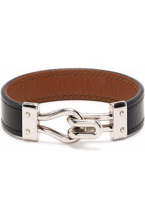 Hermès Women Bracelets - 2015 pre-owned hook fastening leather bracelet