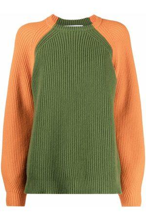 AMI AMALIA Women Jumpers - Two-tone merino sweater