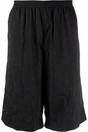 TRUE TRIBE Men Swim Shorts - Rough Steve knee-length swim shorts