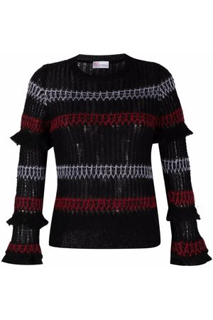 RED Valentino Women Long Sleeve - Long-sleeve knitted top