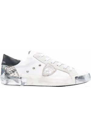 Philippe model Prsx Python Mixage low-top sneakers