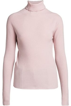 Giorgio Armani Women Jumpers - Wool-Blend Seamless Sweater