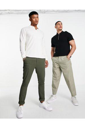 ASOS Men Chinos - Super skinny chinos in khaki