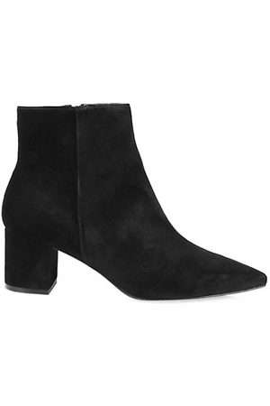L'Agence Jeanne Suede Ankle Boots