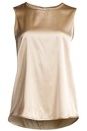 Peserico Women Tank Tops - Silk Sleeveless Top