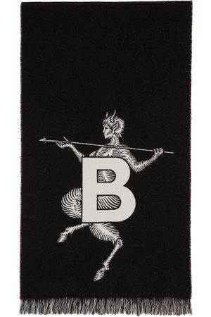 Burberry Mythical Alphabet 'TB' Football Scarf