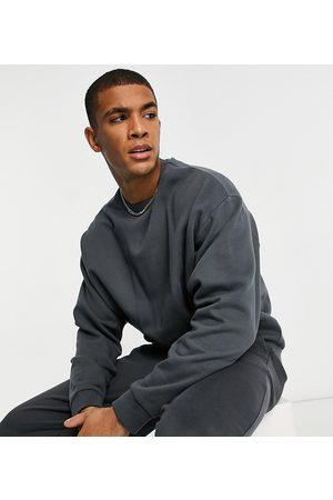 ASOS Oversized sweatshirt in washed