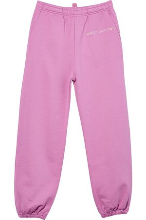 Marc Jacobs Logo-print cotton sweatpants