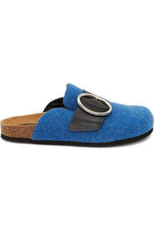 J.W.Anderson Felt buckle loafers