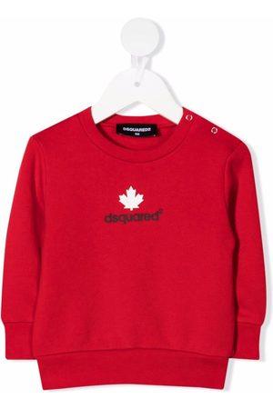 Dsquared2 Kids Logo-print cotton sweatshirt
