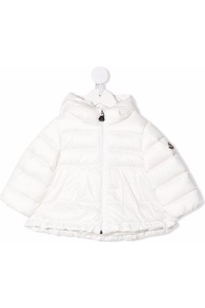 Moncler Quilted padded hooded down coat