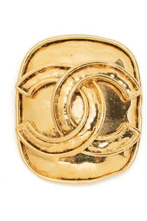 CHANEL 1994 CC logo brooch