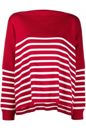 VALENTINO Horizontal-stripe jumper