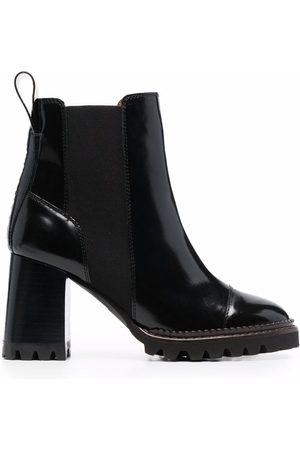 See by Chloé Chunky heel ankle boots