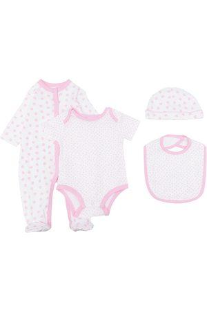 Rachel Riley Polka-dot print babygrow set
