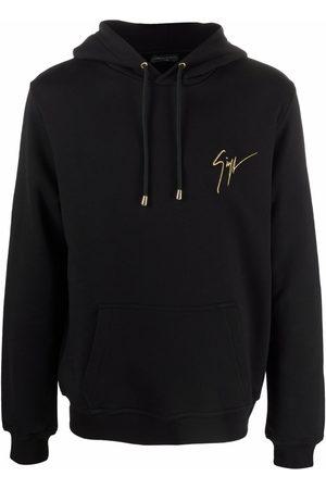 Giuseppe Zanotti Men Sweatshirts - LR-03 logo hoodie