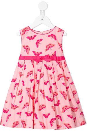 Rachel Riley Butterfly-print sleeveless dress