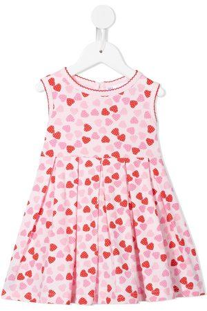 Rachel Riley Girls Casual Dresses - Heart-print sleeveless dress