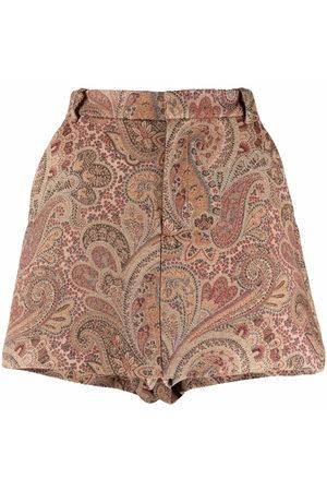 Etro Women Culottes - Jacquard short culottes
