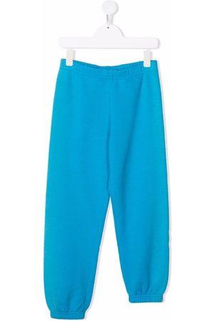 ERL KIDS Boys Skinny Pants - Asymmetric slim-fit track pants