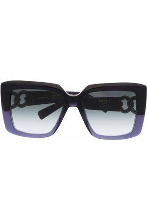 Balmain Square-frame gradient sunglasses