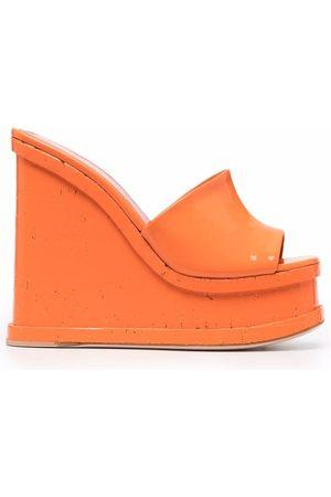 HAUS OF HONEY Platform wedge sandals