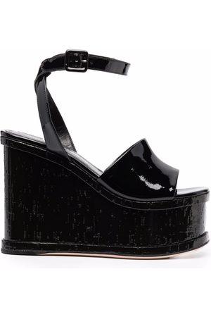 HAUS OF HONEY Women Wedged Sandals - Platform wedge sandals