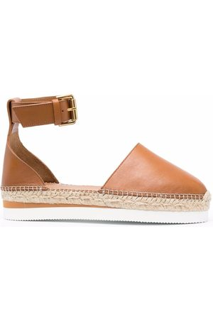 See by Chloé Women Espadrilles - Flat leather espadrilles
