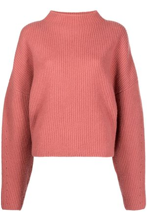 LAPOINTE Ribbed-knit mock-neck jumper