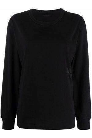 Alexander Wang Logo-print cotton sweatshirt