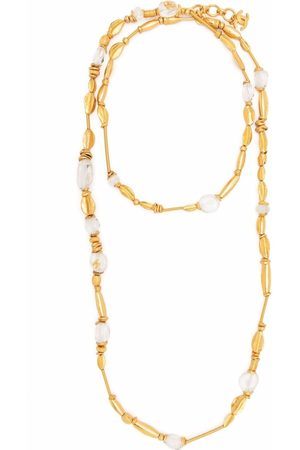 CHANEL 1998 beaded long necklace
