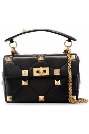 Valentino Garavani Women Shoulder Bags - Rockstud quilted crossbody bag