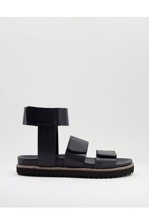 ASOS DESIGN Men Boots - Sandal with ankle strap in leather