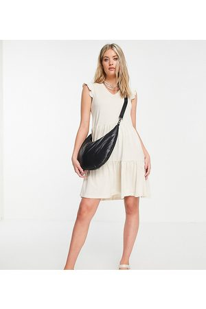 Only Tall Tiered skater mini dress in