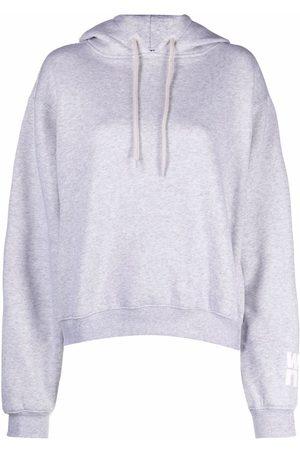 Alexander Wang Logo-print drawstring hoodie