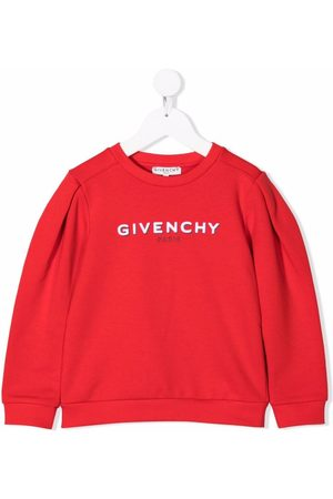 Givenchy Kids Logo-print rib-trimmed sweatshirt