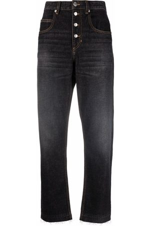 Isabel Marant Étoile High-rise tapered jeans
