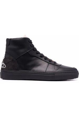 Vivienne Westwood Women Sneakers - Flatform high-top sneakers