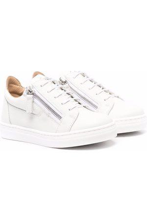 Giuseppe Zanotti Zip-up flatform sneakers