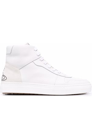 Vivienne Westwood Women Sneakers - Orb-detail lace-up trainers