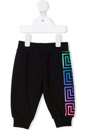 VERSACE Greca-pattern print sweatpants
