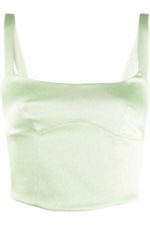Raquette Women Tank Tops - Button-up sleeveless top