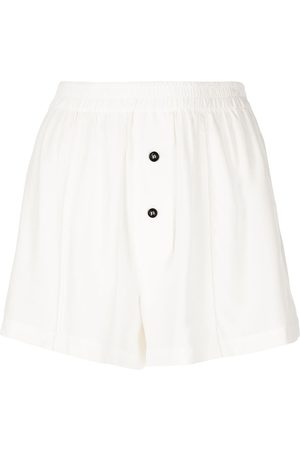 Kiki de Montparnasse Silk boxer shorts