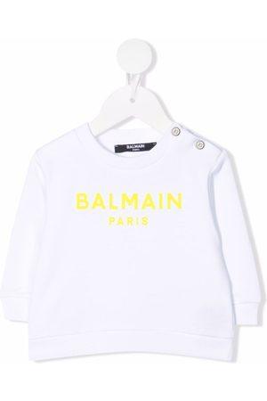 Balmain Kids Logo-print sweatshirt