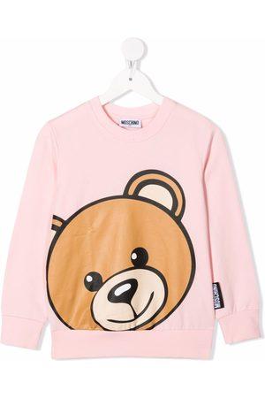 Moschino Boys Sweatshirts - Toy Bear print sweatshirt