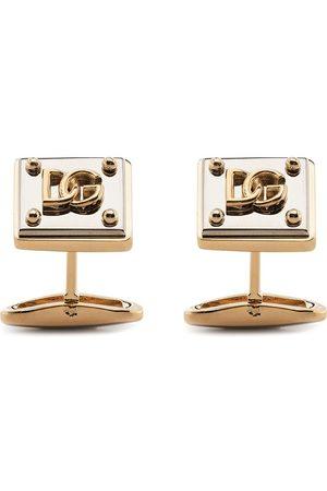 Dolce & Gabbana Men Cufflinks - Logo-plaque cufflinks